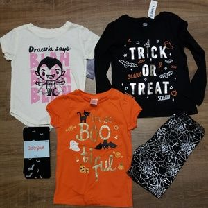 Toddler girl halloween lot 4t